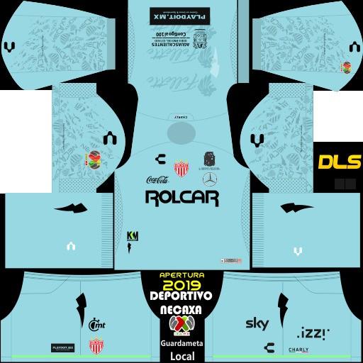 Kit penjaga gawang Club Necaxa Home