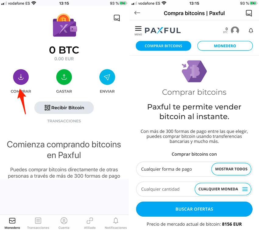 Kúpiť bitcoíny