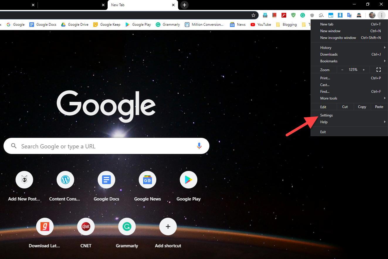 Yükləmələri necə açmaq olar Chrome