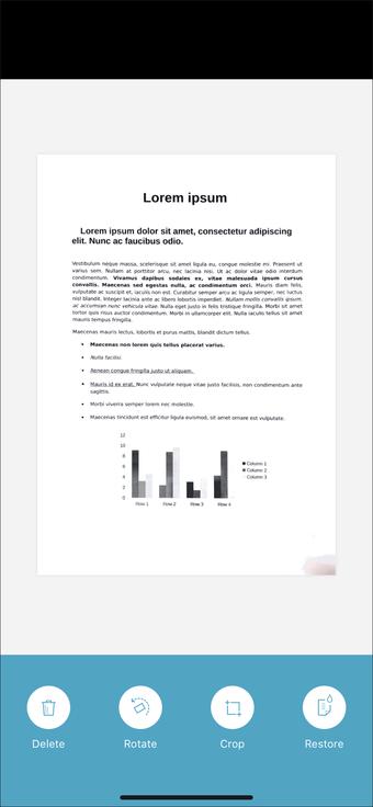 Aplicación de escaneo de documentos para iPhone Ipad 21