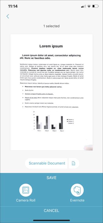 Aplicación de escaneo de documentos para iPhone Ipad 22