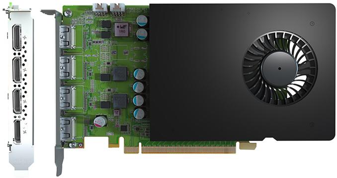 Matrox, NVIDIA Quadro 1 GPU'lu D Serisi Ekran Kartlarını Sunar