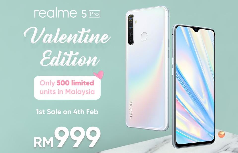 realme 5 Pro Valentine Edition Akan Tersedia Di Malaysia Untuk RM 999 1