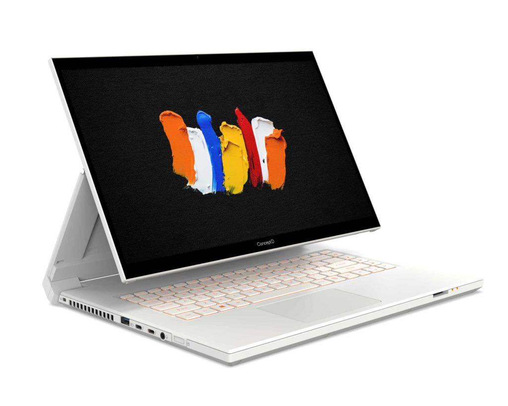 Acer ја проширува својата палета на создавачи на персонални компјутери со тетратката што може да се претвори во серија ConceptD 7 Ezel и работната станица ConceptD 700 1