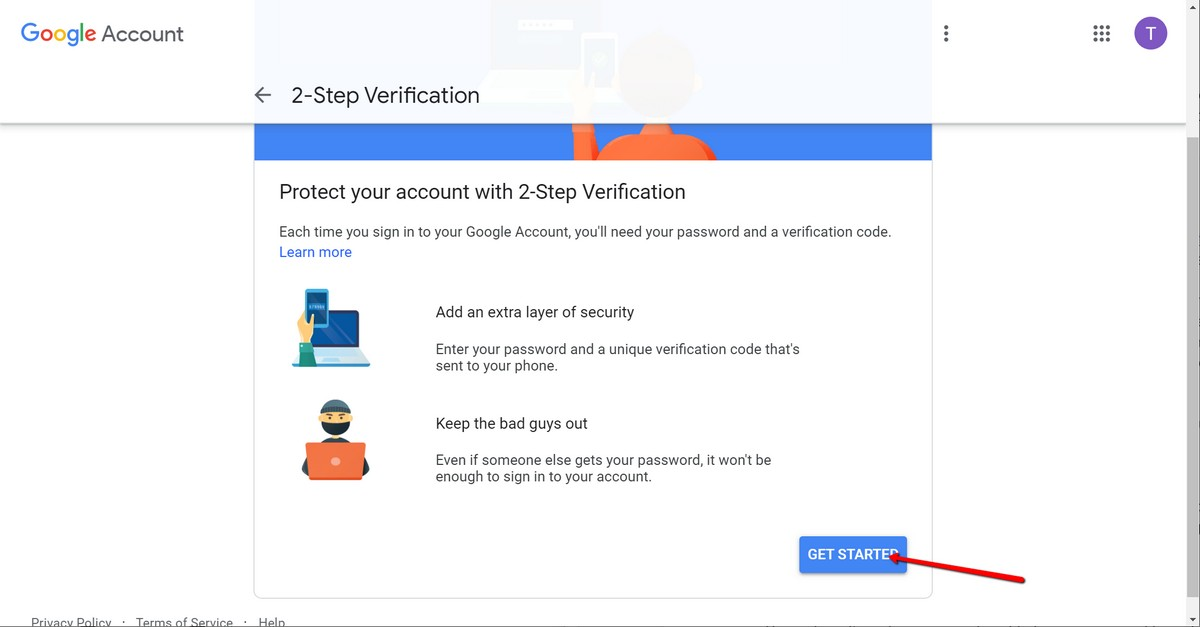 Cómo activar la autenticación de dos factores para su cuenta de Google 2