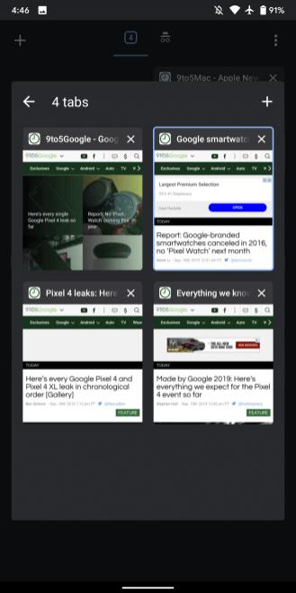 Bola vydaná aktualizácia prehliadača Chrome 80 pre Android. Čo je nové 2