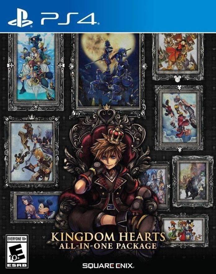 Пакетот Kingdom-Hearts All-in-One ќе ги собере сите приказни и се ексклузивни за PlayStation 4 2