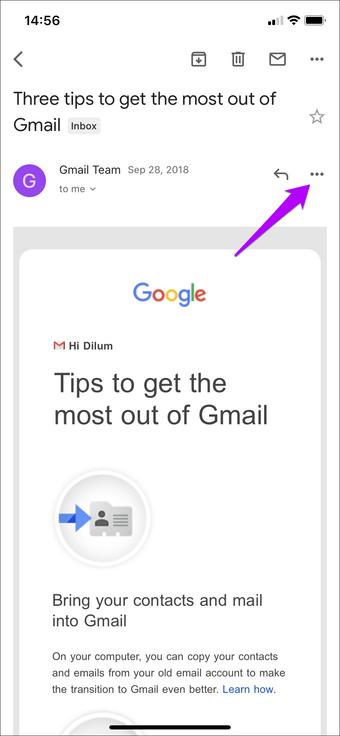 Simpan Email Sebagai Pdf Outlook Gmail Ios 7