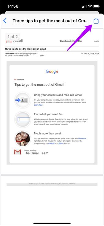 Simpan Email Sebagai Outlook Pdf Gmail Ios 11