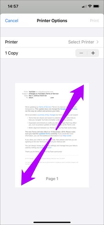 Simpan Email Sebagai Outlook Pdf Gmail Ios 15
