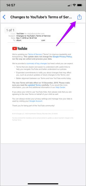 Simpan Email Sebagai Outlook Pdf Gmail Ios 16