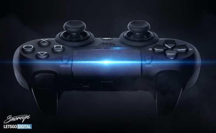 this concept imagines Dualshock 5 'Pro' 5