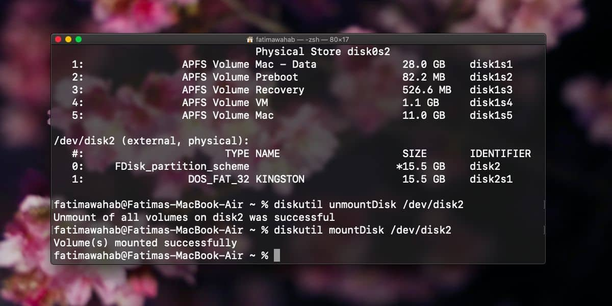 How to install a drive that was ejected without physically disconnecting it on macOS 2