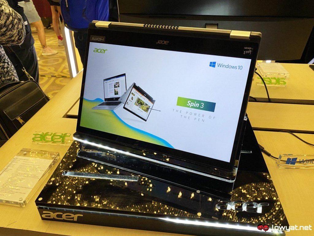 Acer Spin 3 com a décima geração do processador Intel Core chegando à Malásia em março; Preços desde RM 2699 1