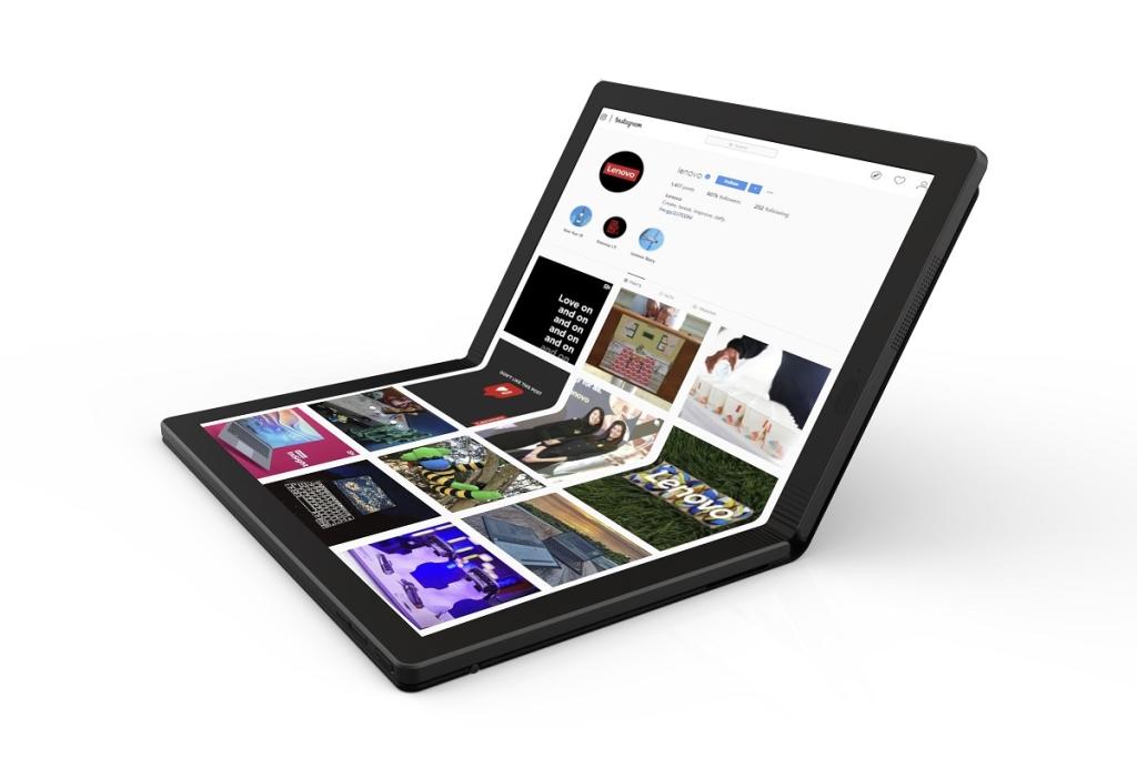 Thinkpad x1 Fold yolun təkamülüdür 2-in-1 Məşhur Lenovo (Play: Lenovo)