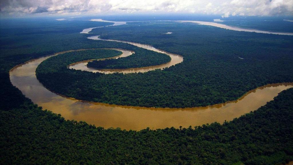 Gunung berapi - Amazonia