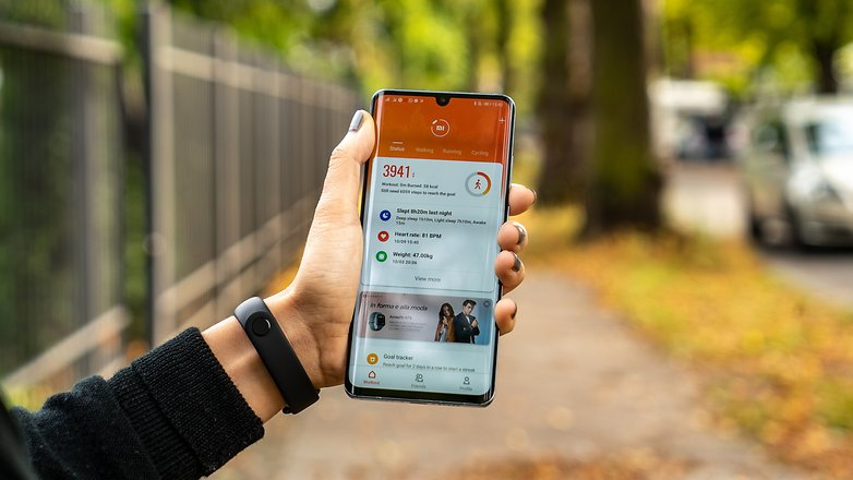 AndroidPIT Xiaomi Mi Band 4 11 mới