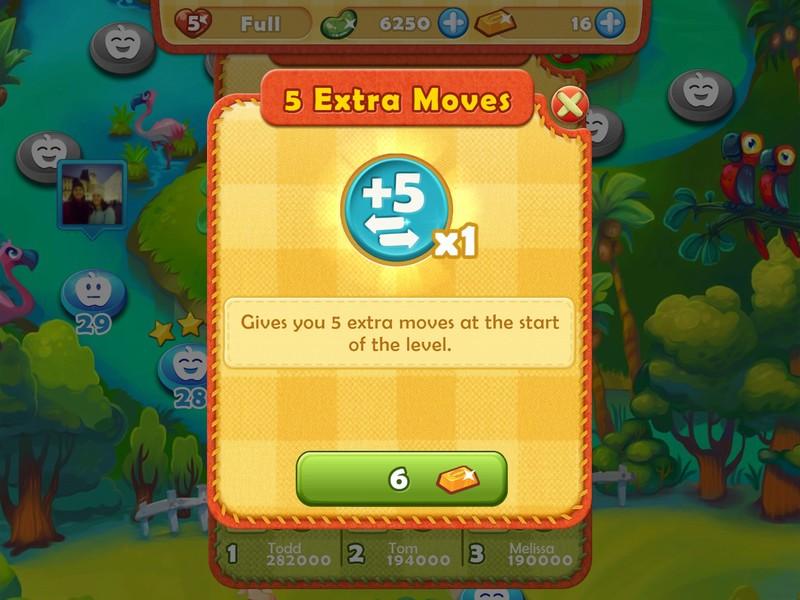 Kiat dan trik untuk bergerak cepat di Farm Heroes Saga untuk iPhone dan iPad 4