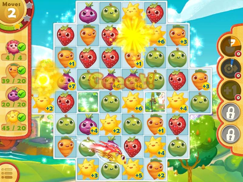 Kiat dan trik untuk bergerak cepat di Farm Heroes Saga untuk iPhone dan iPad 5