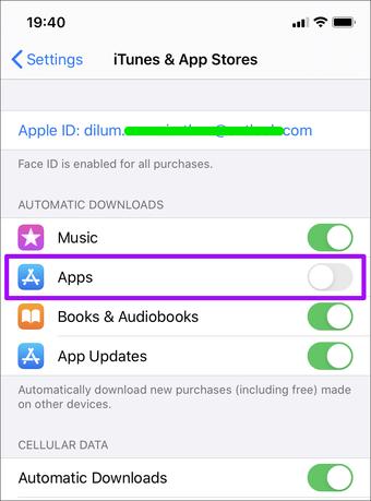 Iphone Stop Mengunduh Aplikasi Secara Otomatis 1