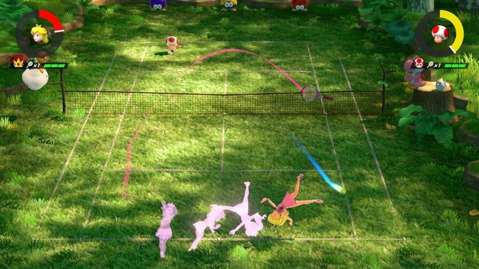 permainan tenis mario tenis ace olahraga