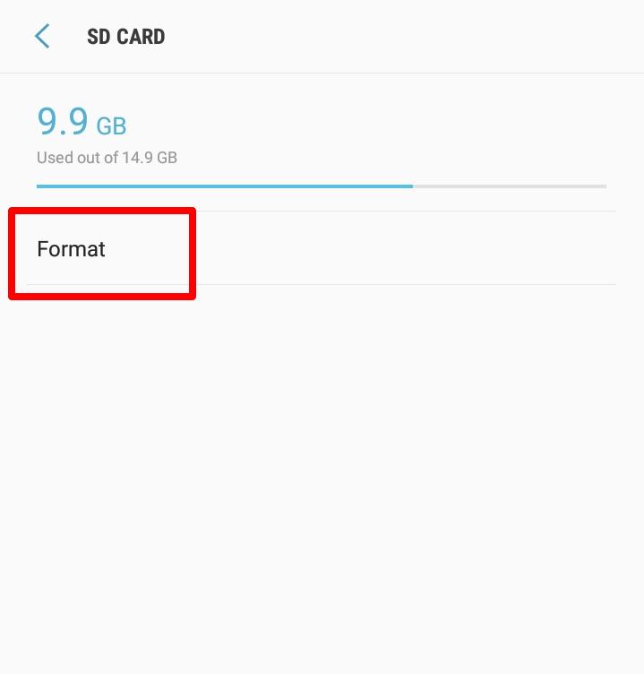 Android-də SD kartlardan necə istifadə olunur: formatlı SD kartları
