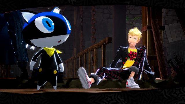 Persona 5 Nintendo Switch kucing