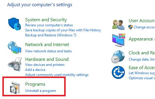 Google Chrome'u kaldırma ve yeniden yükleme