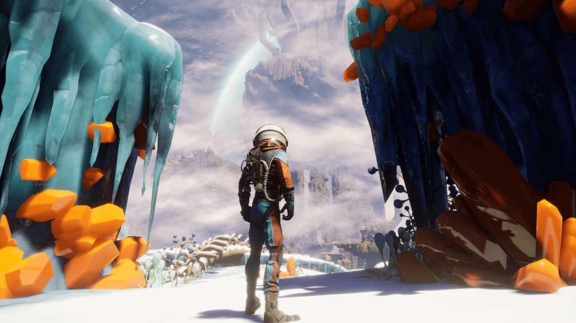 Chuyến đi đến The Interview of Savage Planet: thiết kế, hình ảnh, môi trường và những thứ khác 3
