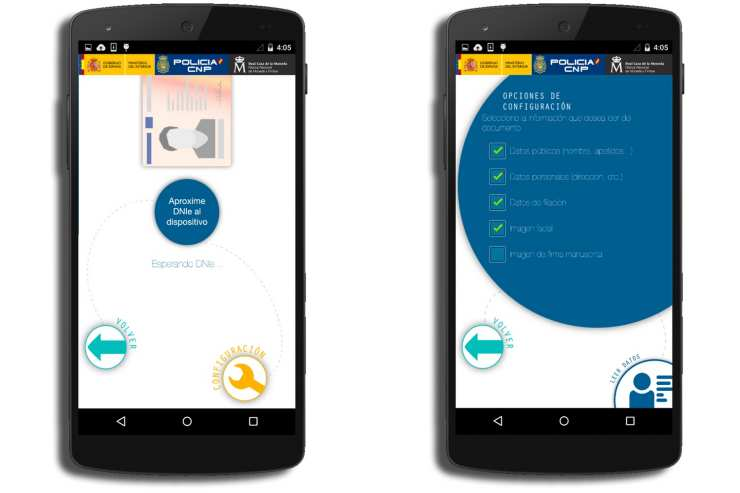 Your Android smartphone as an electronic ID reader 3