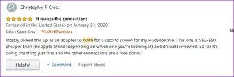 Adaptador HDMI para Mac Book Pro Mokin