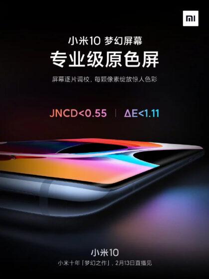 Xiaomi Mi 10: la hét và màn hình pin 4.500 mAh