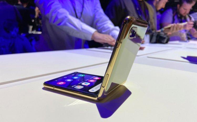 Qatlama barədə nə düşünürəm? Galaxy Samsung Flip Z 3