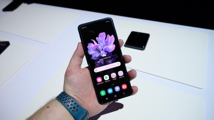 Qatlama barədə nə düşünürəm? Galaxy Samsung Flip Z 2