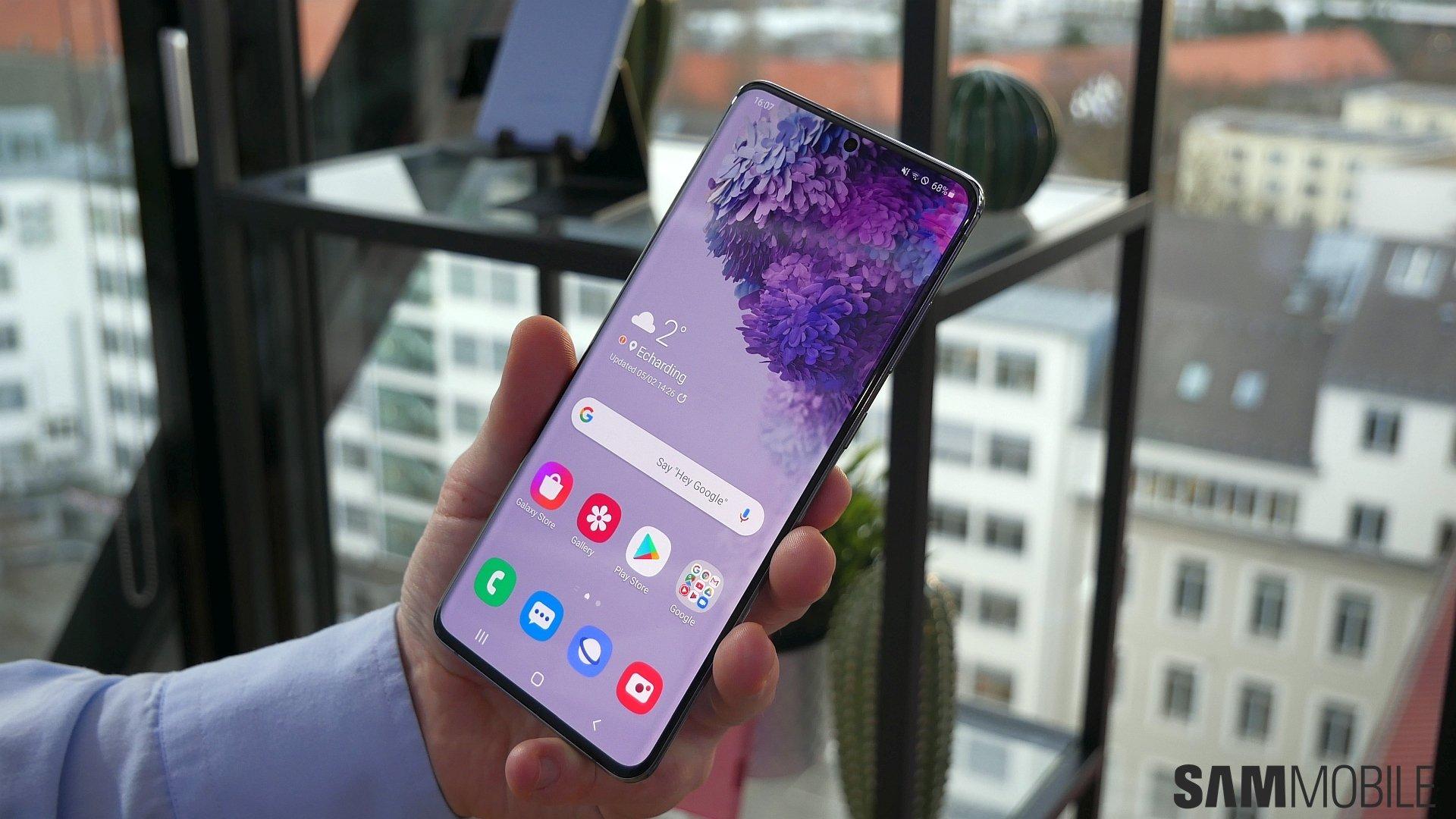 Samsung Galaxy S20 və Galaxy S20 + praktik: inanılmaz dərəcədə asandır 1