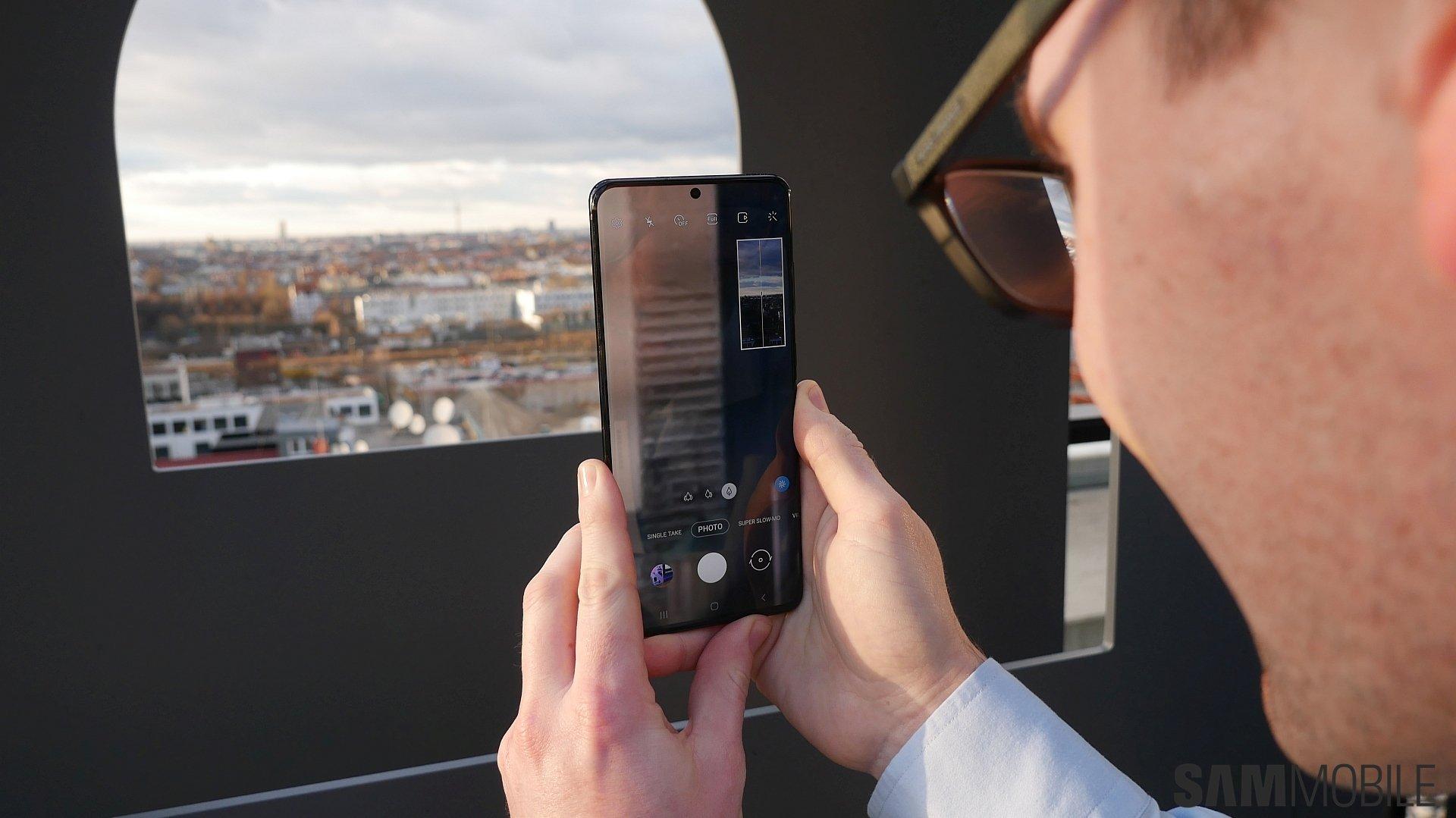 Samsung Galaxy S20 və Galaxy S20 + praktik: inanılmaz dərəcədə asandır 3
