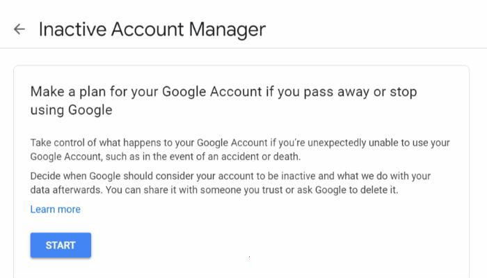 google sil meneceri hesabı aktiv deyil
