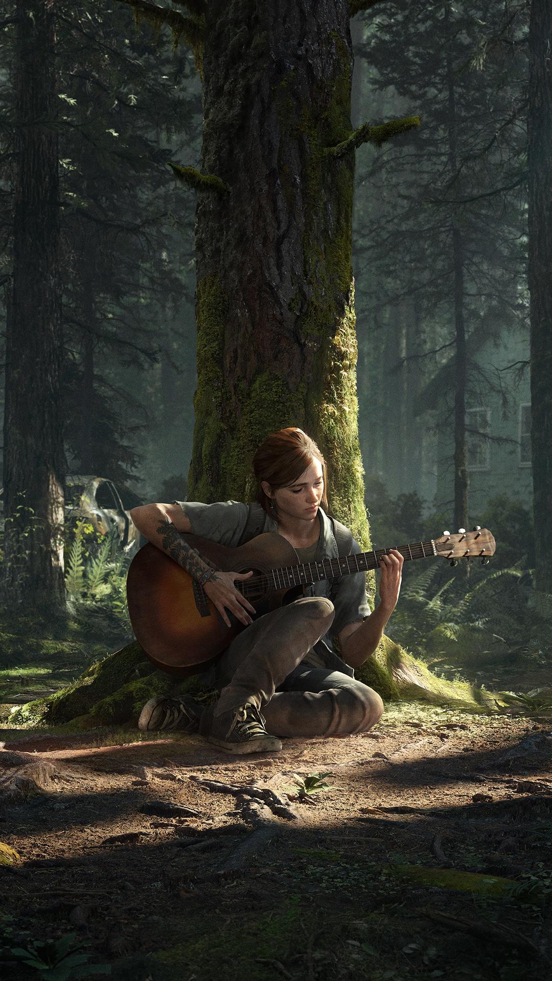 """Преземете ја темата и позадината """"Последниот дел од нас Дел II"""" за PS4 3"""