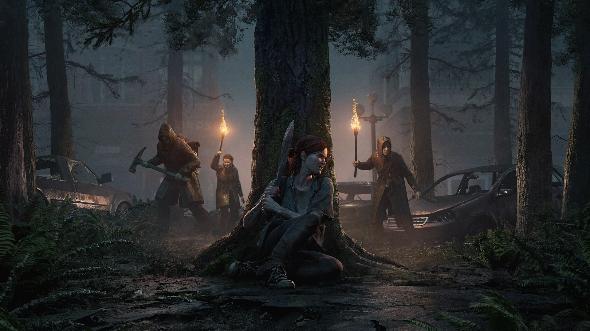 """Преземете ја темата и позадината """"Последниот дел од нас Дел II"""" за PS4 4"""