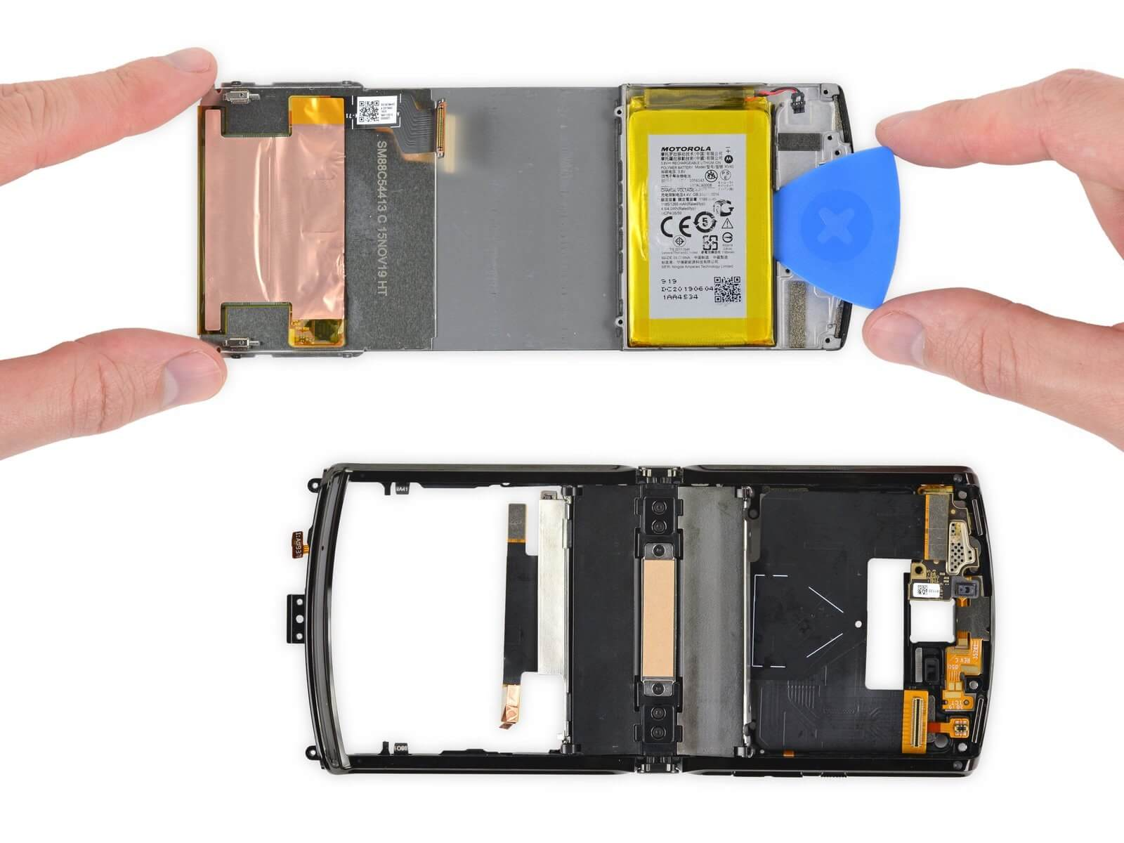 iFixit Says Motorola Razr is the Most Complicated Cell Phone Ever Dismantled 2