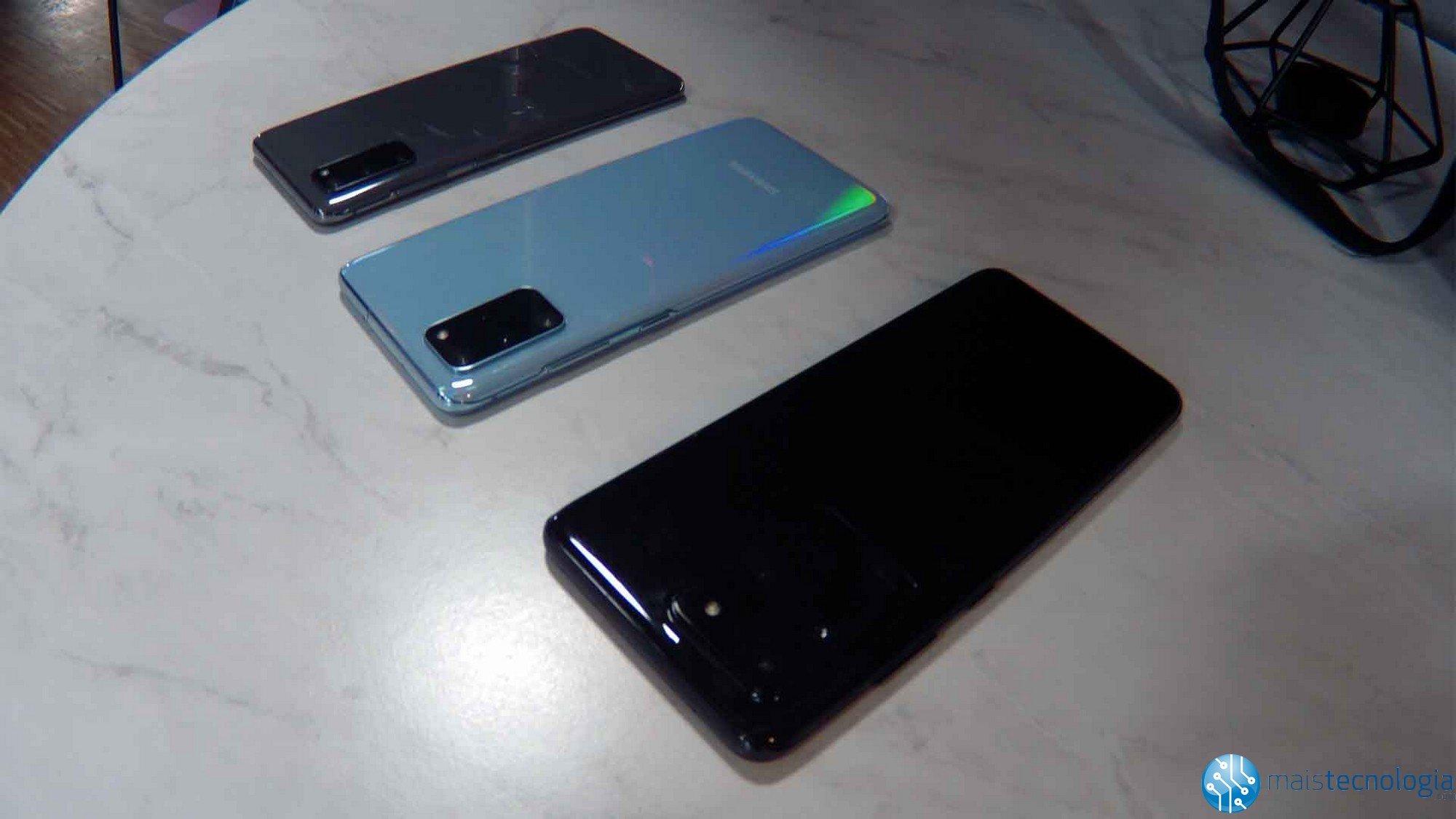 Samsung Galaxy S20 on virallinen ja versioita on kolme: S20, S20 Plus ja S20 Ultra 5