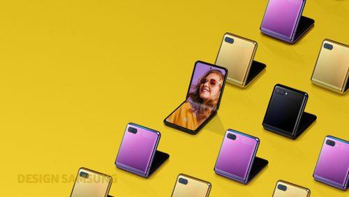 Samsung Galayx Z Flip: ako sa zrodil dizajn 2