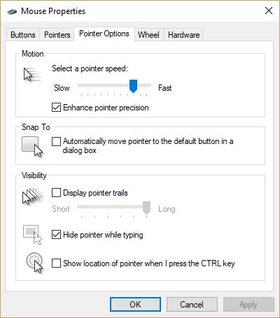 Cómo cambiar la velocidad de tu mouse en 4