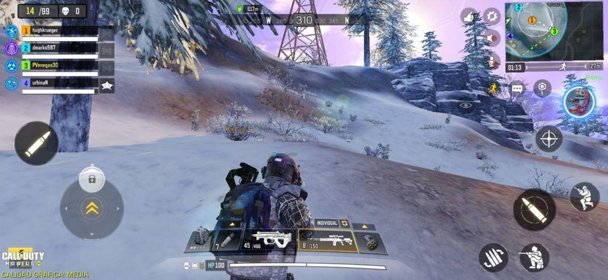 Pertempuran Call of Duty royale dua senjata