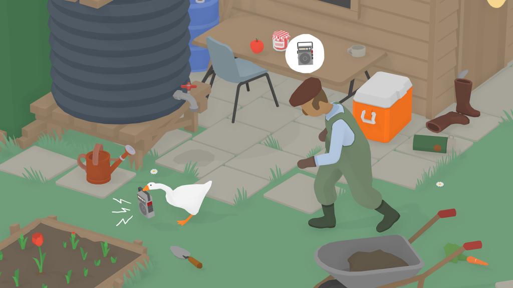 Bagaimana dengan menjadi angsa dan menjadikan kehidupan semua orang di sekitar Anda dalam Untitled Goose Game?