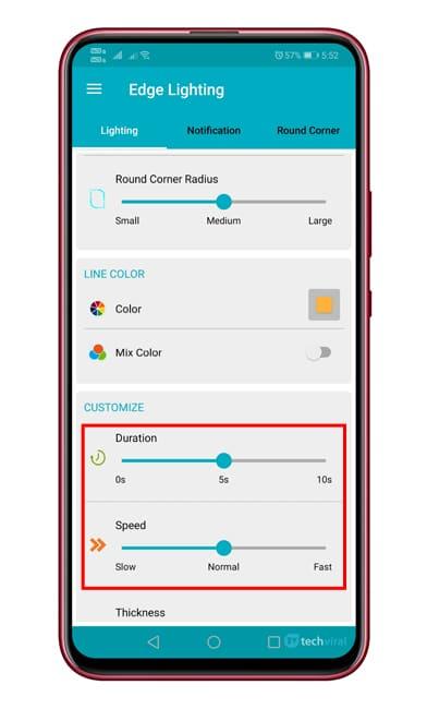 Ako získať funkcie okrajového osvetlenia na akomkoľvek zariadení s Androidom 1