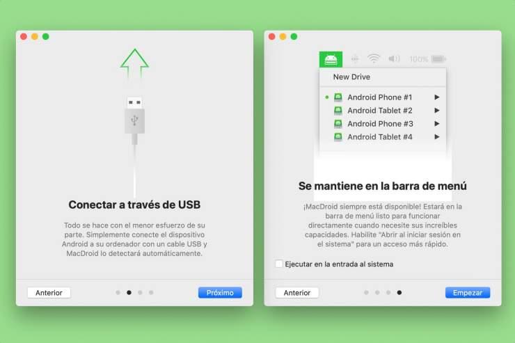 MacDroid ilə bir Android cihazı ilə Mac qoşun 3