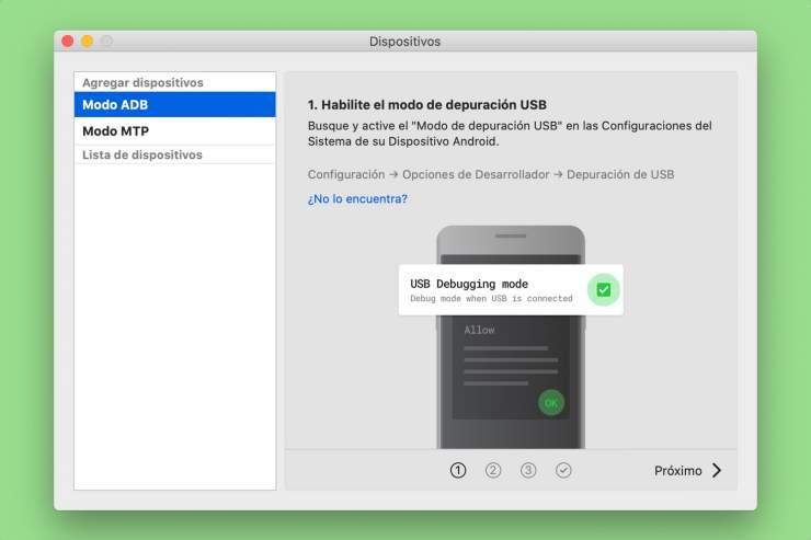 MacDroid ilə bir Android cihazı ilə Mac qoşun 2