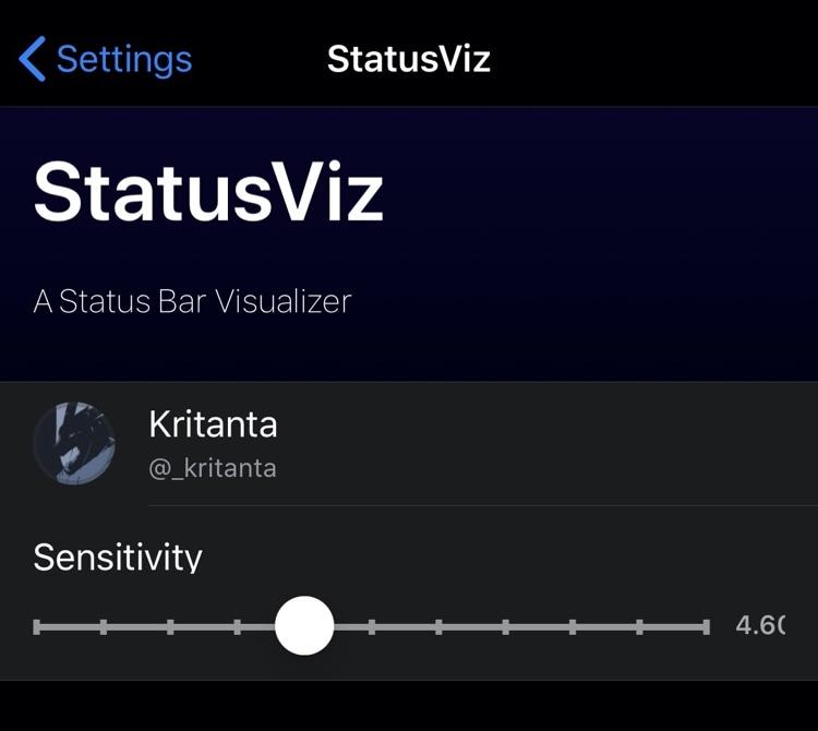 Získajte jedinečný zvukový prehliadač v stavovom riadku pomocou StatusViz 3