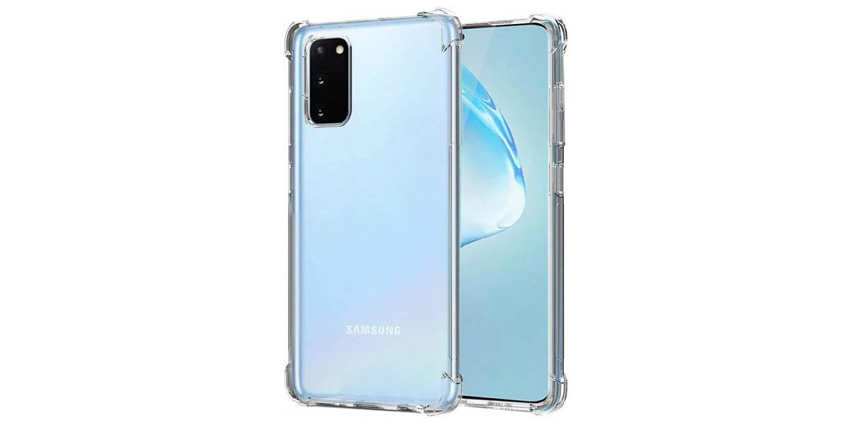 Ốp silicon trong suốt Samsung S20